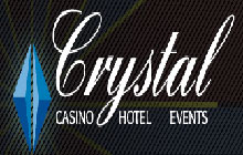Crystal Casino and Hotel California logo